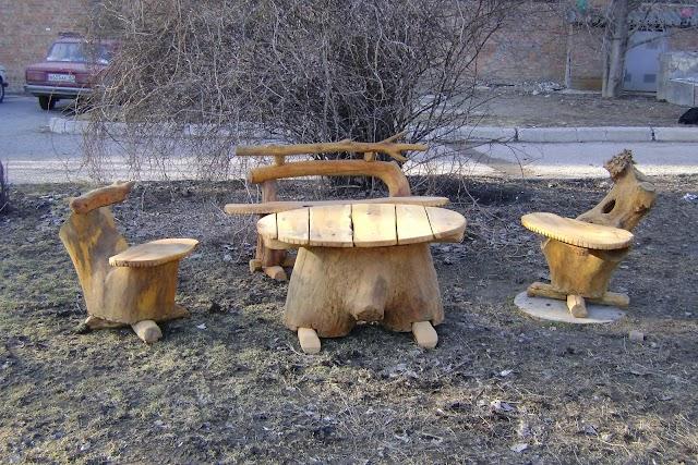 Креативная садовая мебель