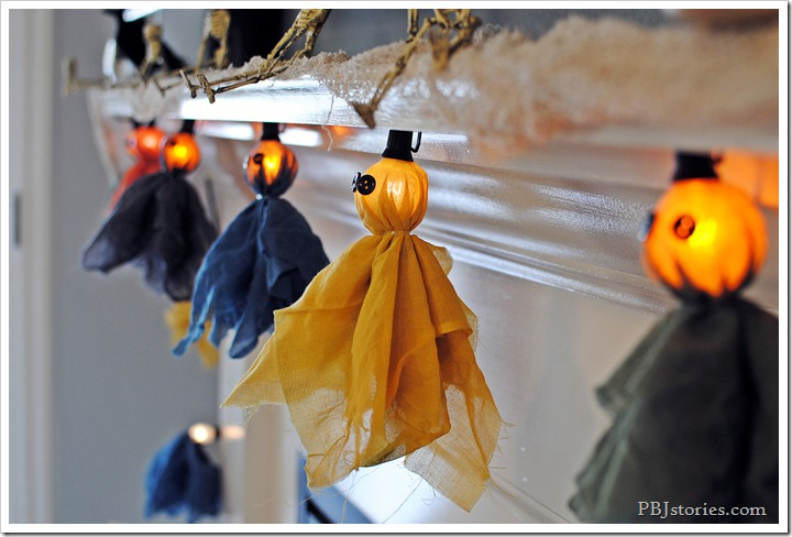 PBJstories Halloween Ghost Garland