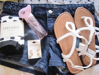 assorted forever21 stuff, bitsandtreats