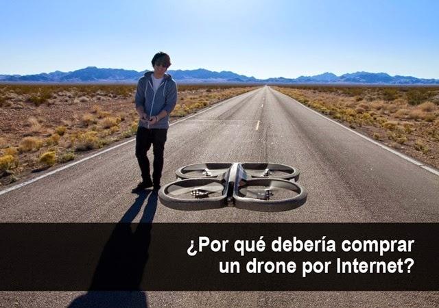 Por qué debería comprar un drone por Internet