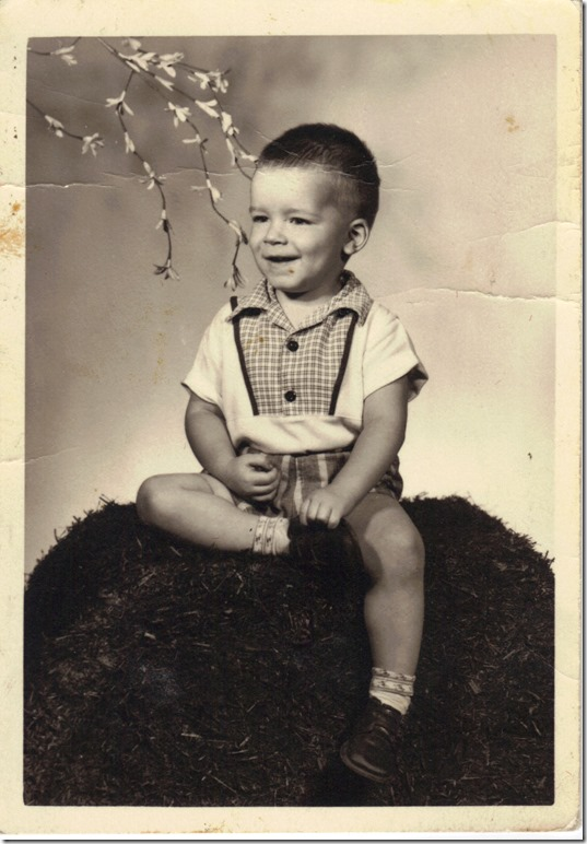 Richard Littrell, age 2