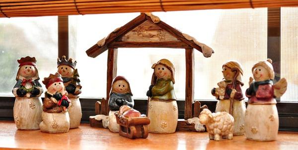 Kitchen Window Nativity