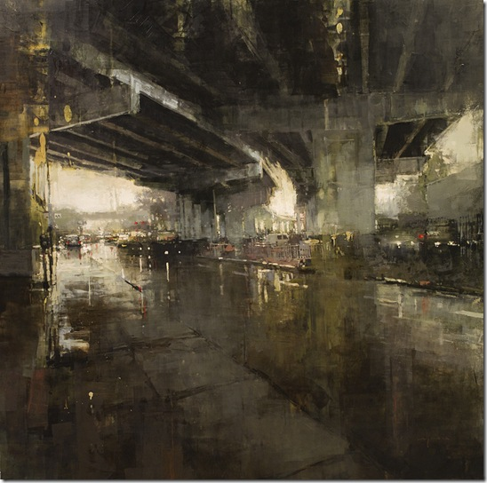 Beneath the Bayshore Freeway