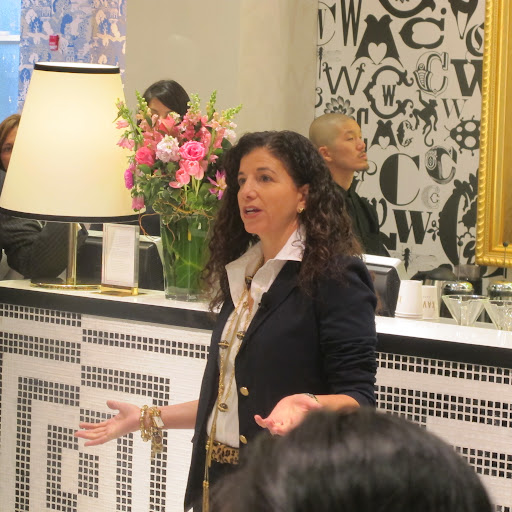 Amy spoke about the detailed technology advancements and style planning that went into conceptualizing the whole store.