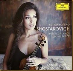 Shostakovich Concierto para violin 1 Moreno Temirkanov