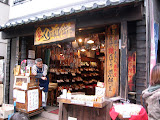 A nice old shop on Kawagoe's candy lane