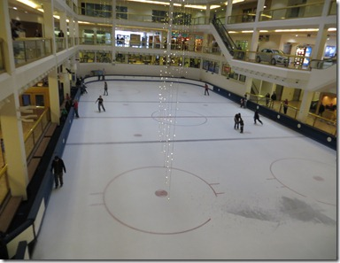 Dimond Mall skating rink