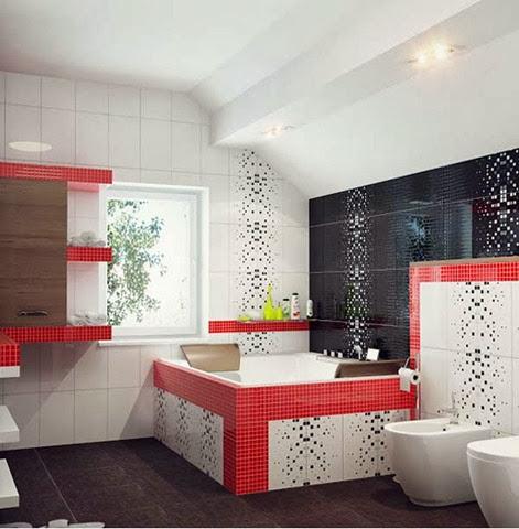 desain interior kamar mandi