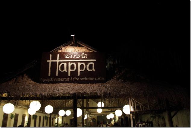 Happa Restaurant, Sihanoukville