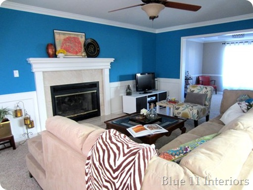 Emmie's Bold Sea Blue Room