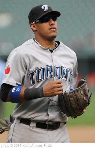 'Yunel Escobar' photo (c) 2011, Keith Allison - license: http://creativecommons.org/licenses/by-sa/2.0/