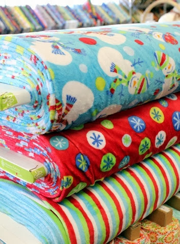 Cuddle Fabrics at The Fabric Mill