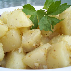 Moroccan Spiced Roast Potatoes