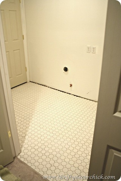 hexagon tile floor