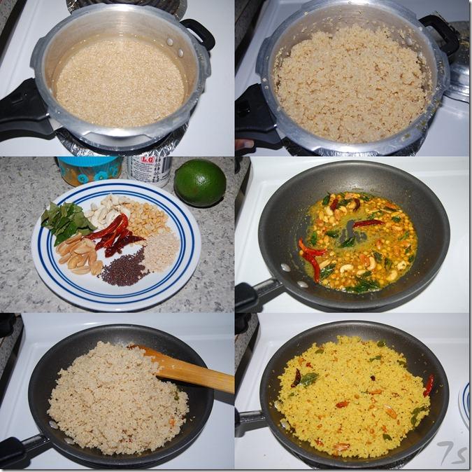 Lemon quinoa process