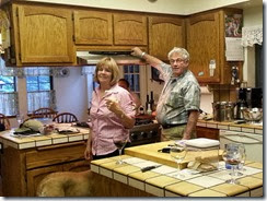 Al n Sally in Kitchen