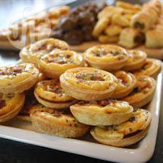 Mini Quiches Met Spek