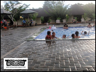 SWIMMING AT KAMORO TAME HOTEL