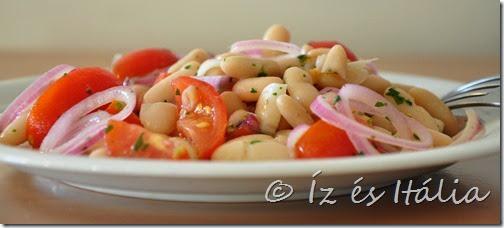 Saláták, babsaláta