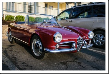 Alfa-Romeo at Coffee and Cars