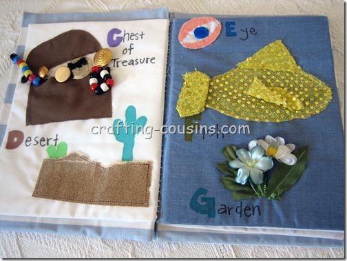 Textile Quiet Book (4)