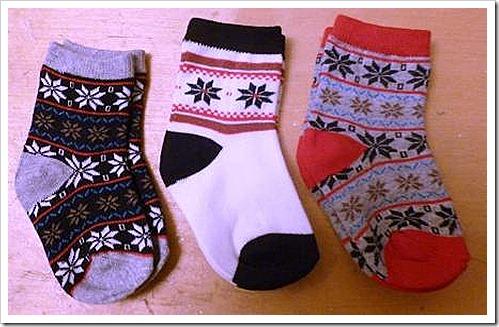Primark Christmas baby socks
