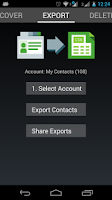 Screenshot of Contacts Import