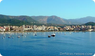 Docked in Ajaccio, Corsica