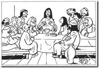 ultima-cena-para-colorear-Santa-Cena