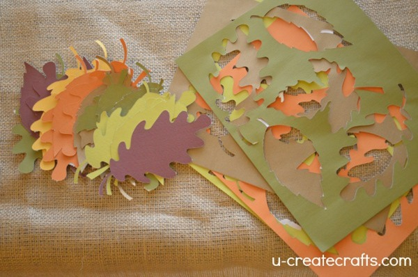 DIY Gratitude Tree Leaves