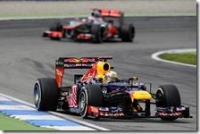 Vettel sanzionato con 20 secondi nel gran premio di Germania 2012