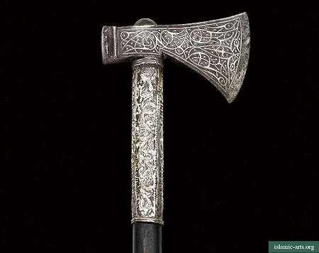 AN OTTOMAN AXE, TURKEY, CIRCA 18TH CENTURY