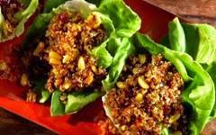 Quinoa-Pilaf-in-Lettuce-Cups