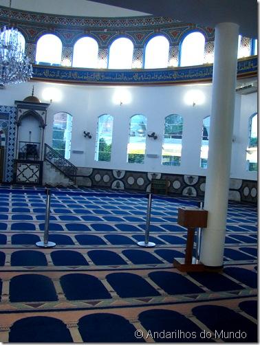 Mesquita em Foz do Iguaçu - Salão - #BlogTurFoz