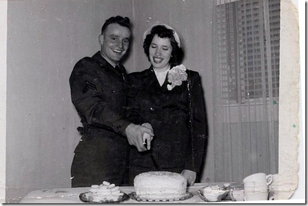 Mom and Dad's Wedding, 12-31-51
