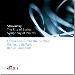 Stravinsky Consagracion Barenboim Paris
