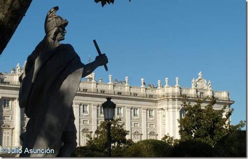 Iñigo Arista y el Palacio Real - Madrid
