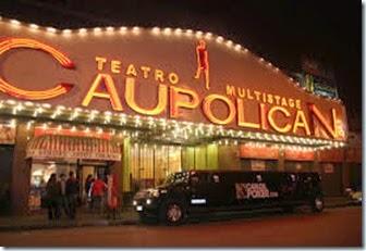 Teatro Caupolican en Chile