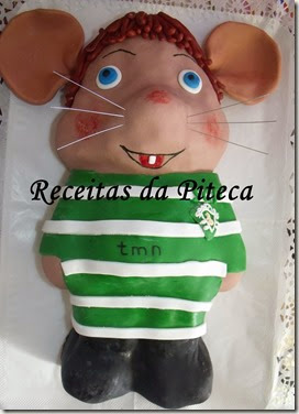 Topo gigio do Sporting.