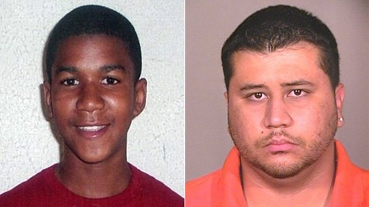 Trayvon Martin killed by racist George Zimmermon