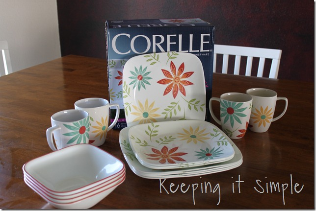 corelle dishware happy days (1)