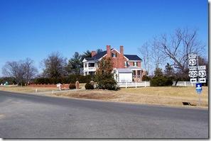 Pendleton Home also called Cuckoo in Lousia County, VA