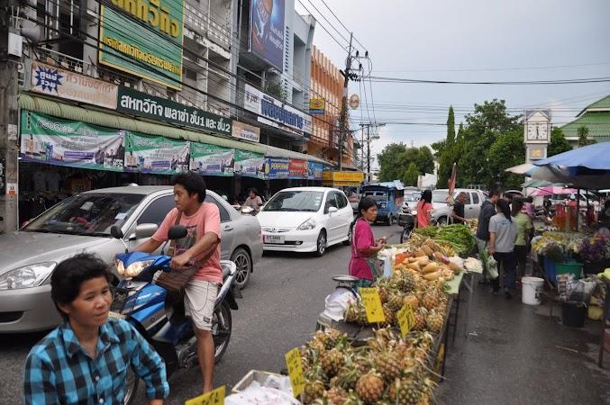 Imagini Thailanda: Piata de zi din Chiang Rai, Thailanda