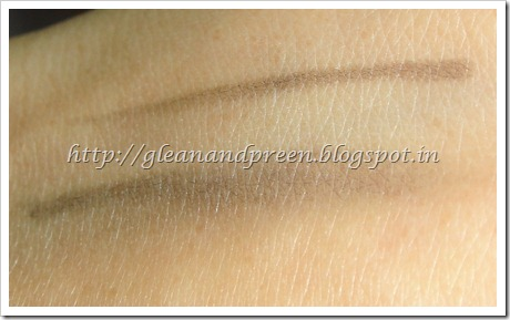 Faces Kajal Smudged Swatch
