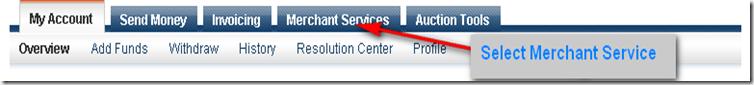 Select Merchant Service