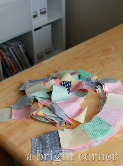 Kates Big Day quilt in progress