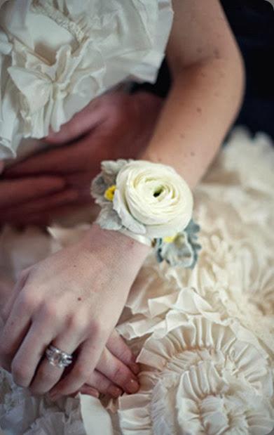 wrist corsage Christine_Tom_Ocean_House_2011_02 datura