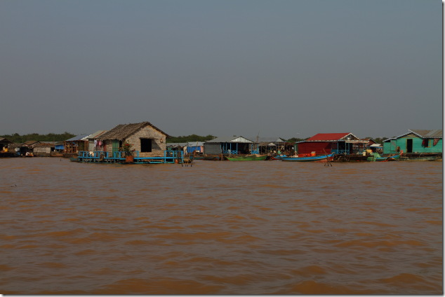 Chong Khneas - The floating village on Tonle Sap, Cambodia