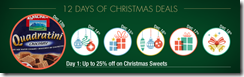Amazon: 12 Days of Christmas Deals – Day 1, Sweets flat 25% off