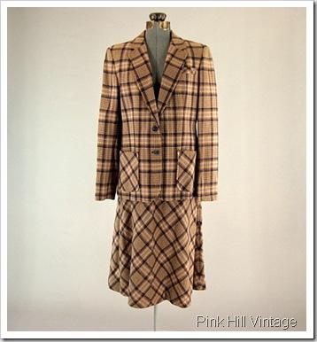 Young Pendleton vintage suit
